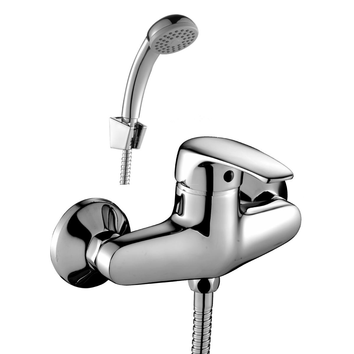 Смеситель Rossinka Silvermix F40-41 одноручный для ванны