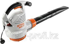 Воздуходув STIHL BGЕ 81, 1,4 кВт, максим. скорость воздушн.потока 76 м/с, масса 3,3 кг