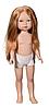 Карлота - рыжие волосы с пробором, 28 см (Vestida de Azul, Испания)