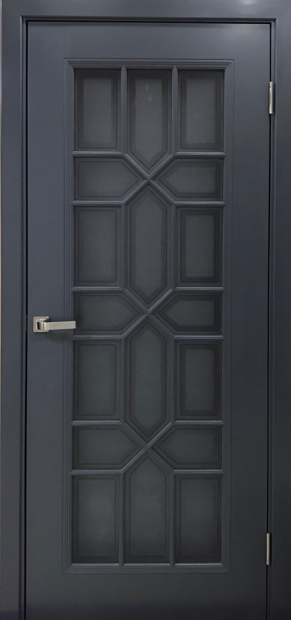 Межкомнатная дверь Топаз эмаль антрацит