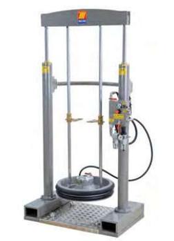 Стационарный пневматический набор Meclube для нагнетания густых смазок и вязких жидкостей