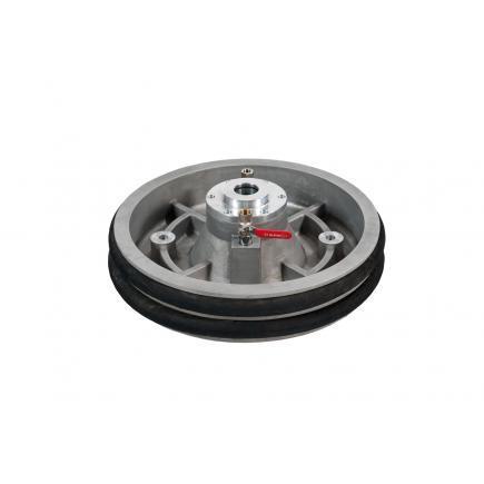 Алюминиевая мембрана Meclube с двумя резиновыми уплотнительными кольцами