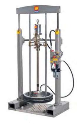 Стационарный пневматический набор Meclube для нагнетания густых смазок и вязких жидкостей 012-1370-000