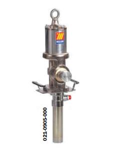 Промышленный пневматический насос для раздачи масла Meclube, модель 905