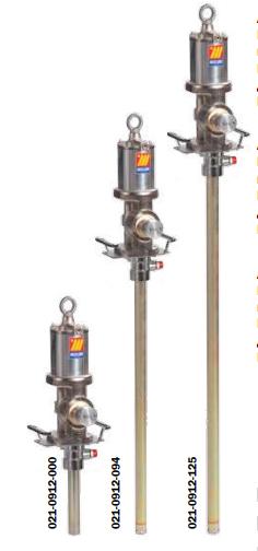 Промышленный пневматический насос для раздачи масла Meclube, модель 912