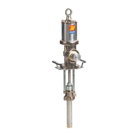 Промышленный пневматический разделенный насос Meclube, модель 912D