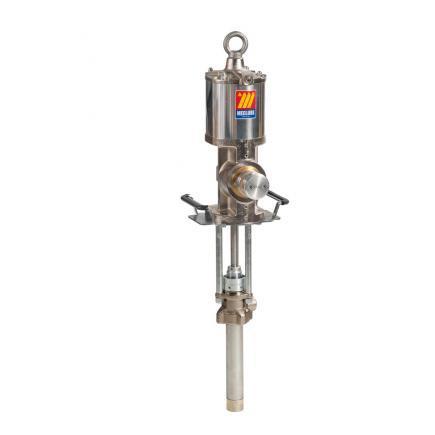 Промышленный пневматический разделенный насос Meclube, модель 1220D