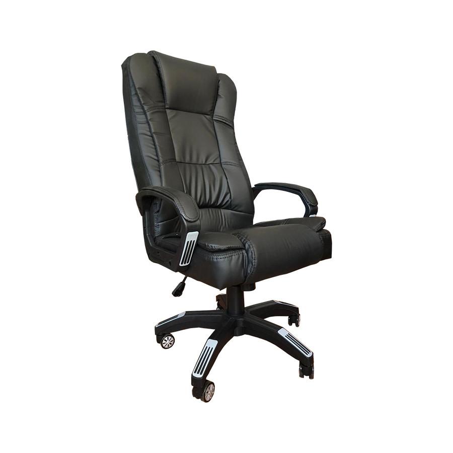 """Представительское Офисное кресло """"Мажор"""" из кожзама"""