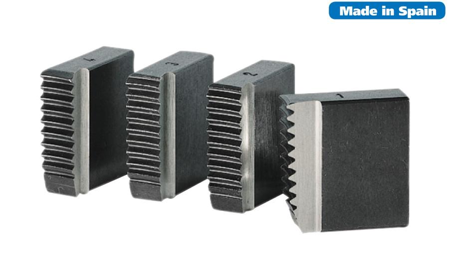 """Набор резьбонарезных ножей BSPT 3.1/2"""" - 4"""" для ручного клуппа 3 и 4"""""""