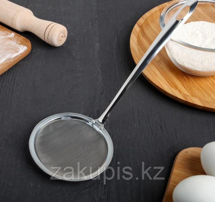Сито для снятия пены «Металлик», 26х10 см