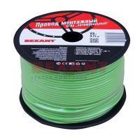 Провод ПГВА REXANT 1х0.75 мм², зеленый, бухта 100 м