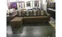 Угловой диван раздвижной (механизм Тик Так) на заказ