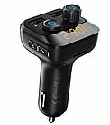 Автомобильный блютуз FM модулятор Remax RCC105 (Black)