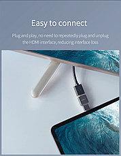 Переходник USB Type-C - HDMI 2.0, 4K mini HAGIBIS, фото 3