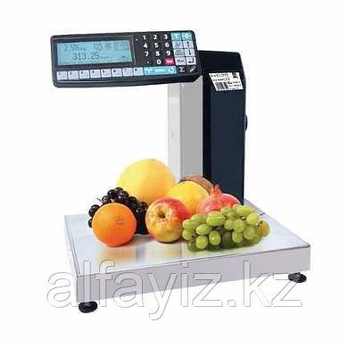 Весы фасовочные с печатью этикетки МАССА-К МК-6(15,32).2-RP-10-1