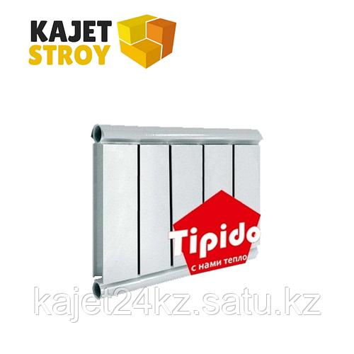 Алюминиевый радиатор TIPIDO 200 В 200мм, Ш 85мм, Г 60мм