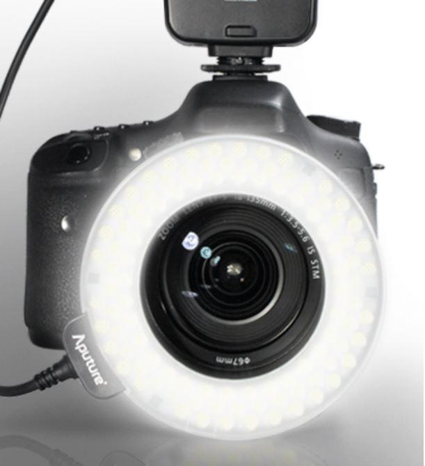 Apature Amaran AL-HC100 Накамерный LED прожектор+вспышка кольцо
