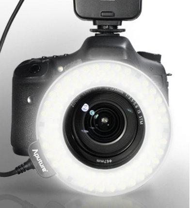 Apature Amaran AL-HC100 Накамерный LED прожектор+вспышка кольцо, фото 2