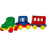 Машинки, паровозик kid kars 39260
