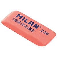 Ластик Milan 236 скош. прямоуг., пластик 56*19*9мм