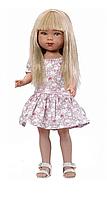 Карлота в платье с принтом