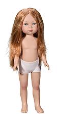 Карлота в трусиках (рыжие волосы с пробором )