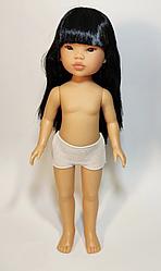 Уми  прямые черные волосы с челкой (без одежды)