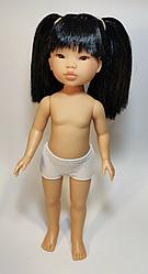 Уми черные волосы с двумя хвостами (без одежды)
