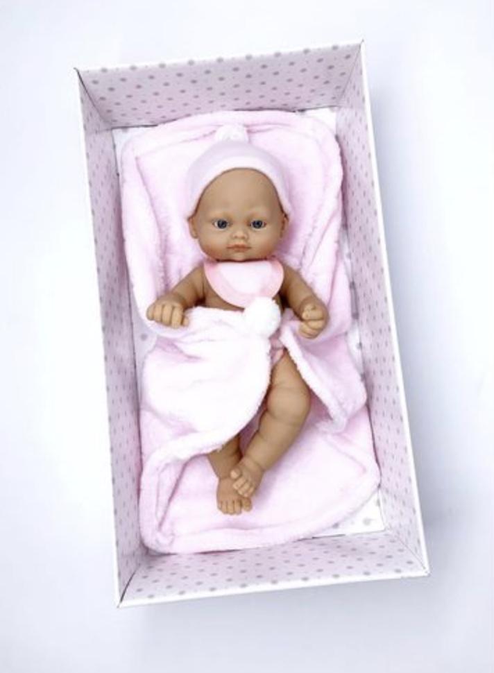 Кукла NEW BORN BABY 28 CM.девочка - фото 1