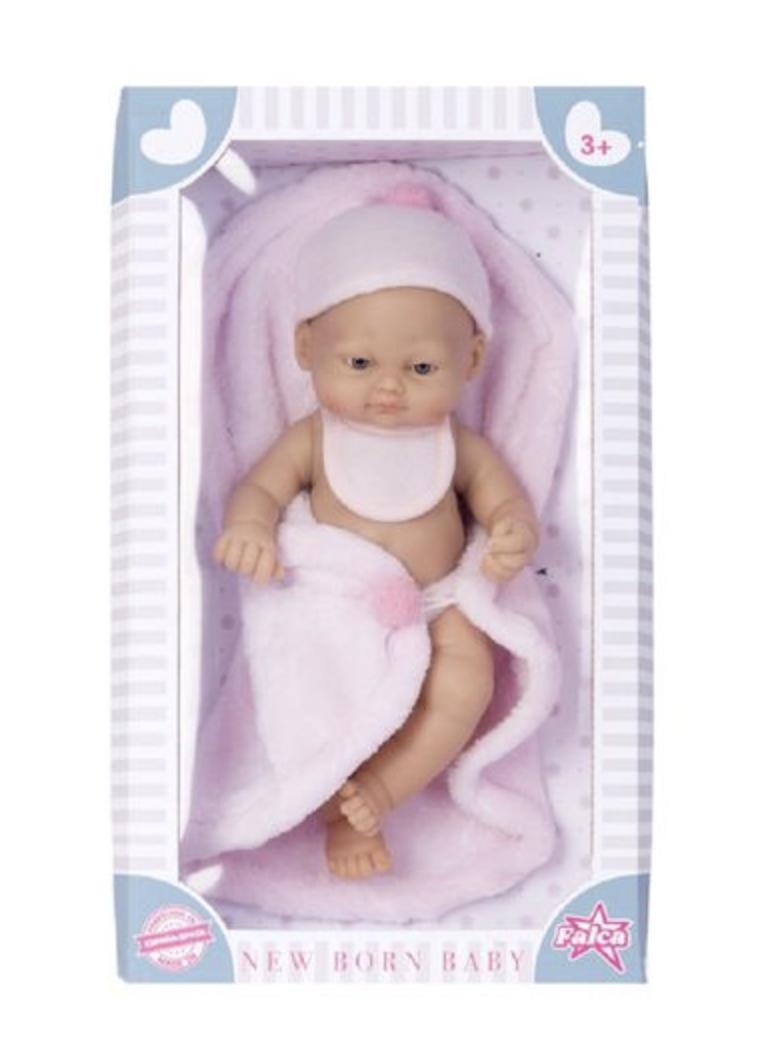 Кукла NEW BORN BABY 28 CM.девочка - фото 5