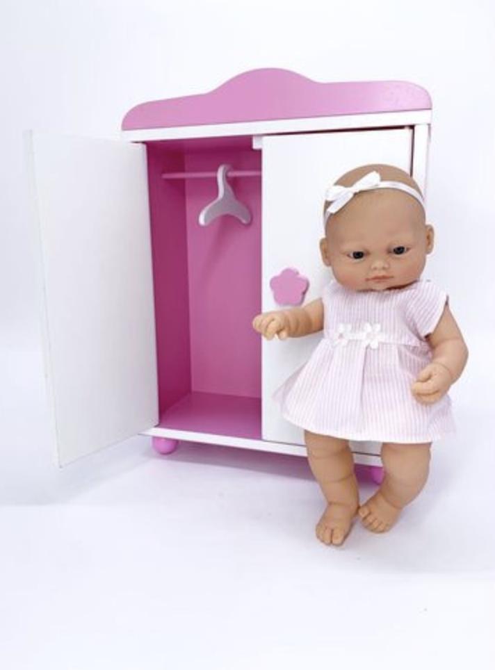 Кукла 28 CM с шкафом - фото 1