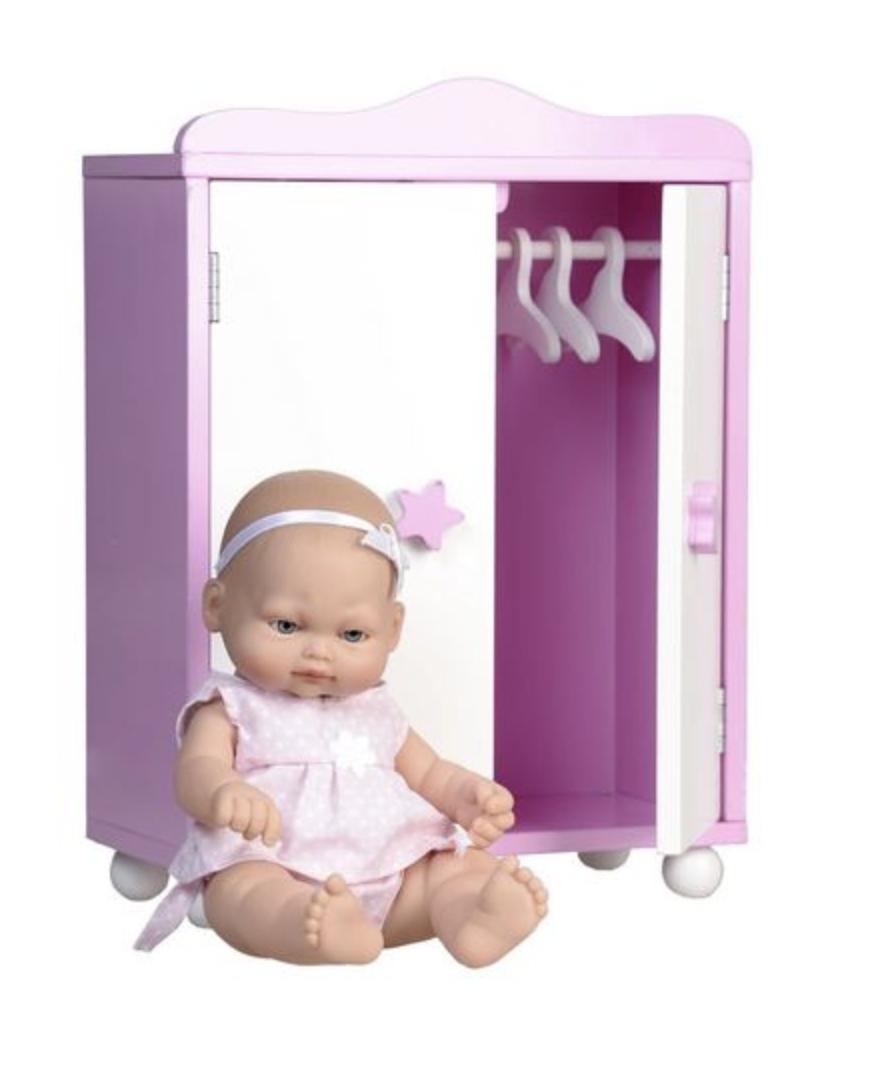 Кукла 28 CM с шкафом - фото 2