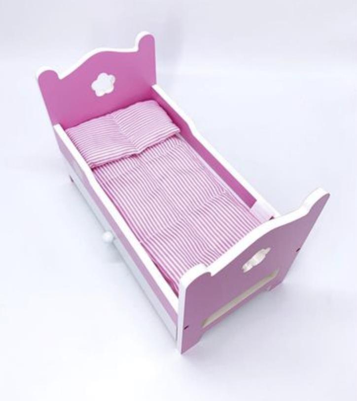 Кукла 28 CM с кроватью - фото 2