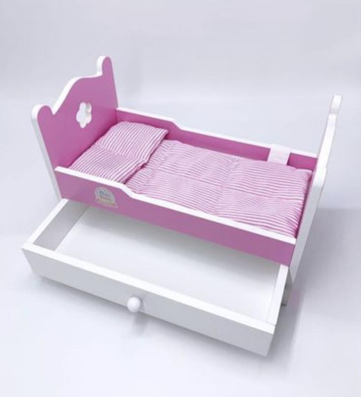 Кукла 28 CM с кроватью - фото 3