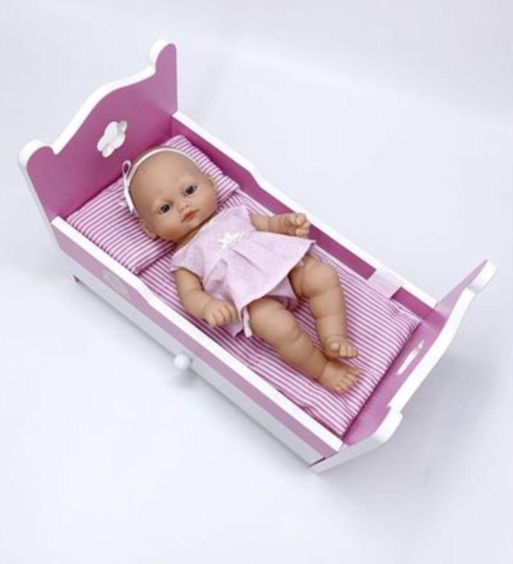 Кукла 28 CM с кроватью - фото 4