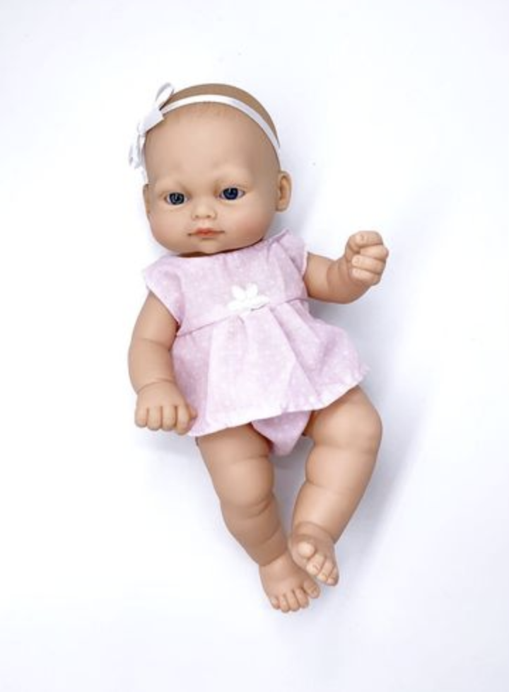 Кукла 28 CM с кроватью - фото 5