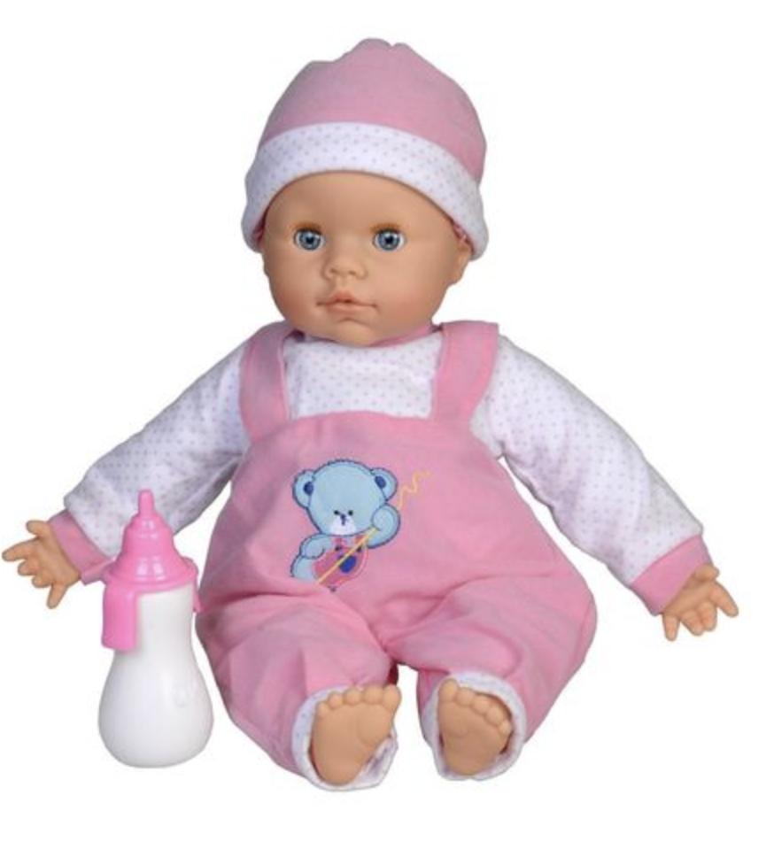Кукла BABY с бутылочкой - фото 1