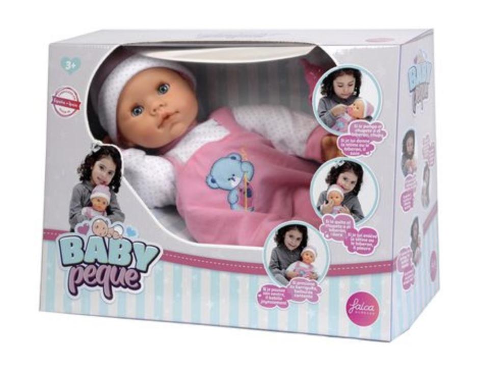 Кукла BABY с бутылочкой - фото 2