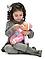Кукла BABY  с бутылочкой, фото 3
