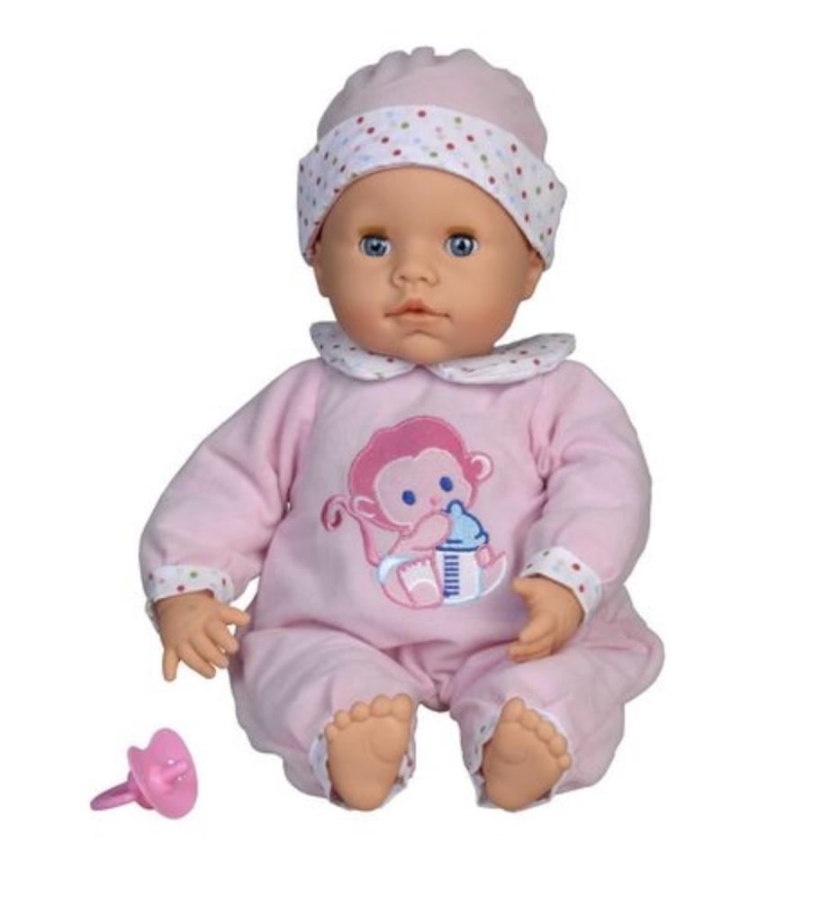 Интерактивная кукла BABY 7 звуков 2019