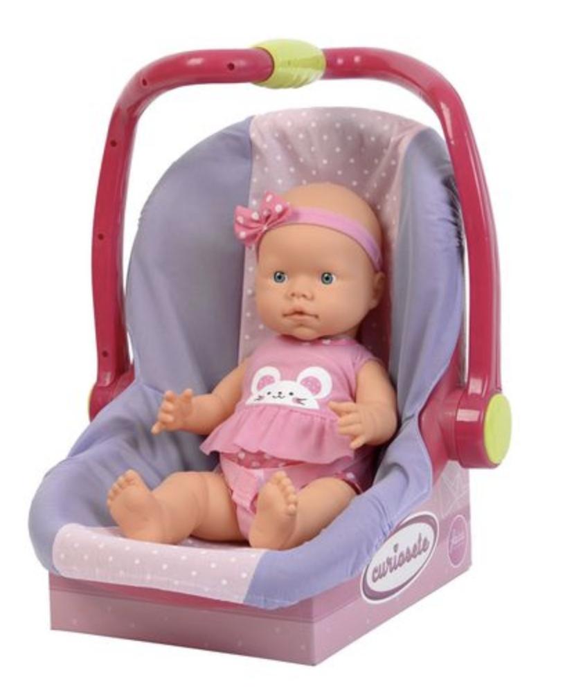 Кукла в автокресле - фото 1