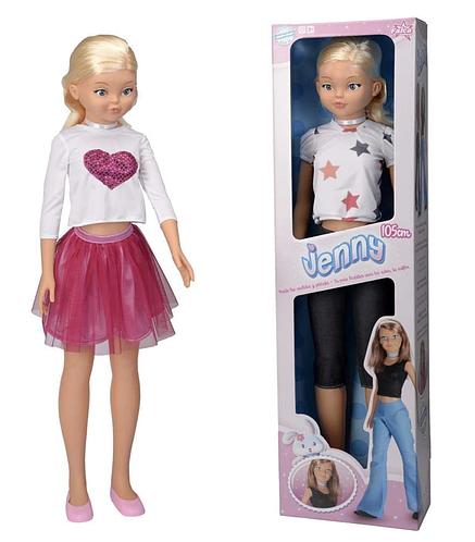 Кукла Дженни модница 105 CM