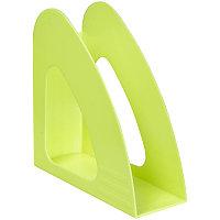 Лоток вертикальный пласт. 1 секция OfficeSpace арт.VH_33 Colorful неон., цвет ассорти 23.5*24*9см