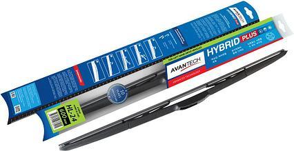 """Щетка стеклоочистителя Avantech """"Hybrid"""", гибридная, под крючок, 24"""" (60 cм)"""