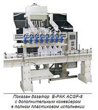 Автоматическое оборудование для дозирования сильных агрессивных жидкостей