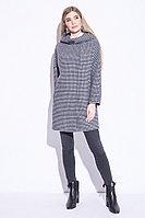 Пальто демисезонное, шерсть, 44-52, синий электрик