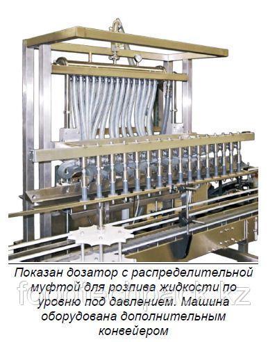 Автоматическое оборудование для дозирования жидкости по уровню