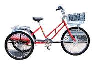 Велосипед трехколесный для взрослых Worksman Adaptable Industrial Tricycle ADP-CB