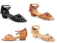Туфли бальные женские сатин MARINA BK 13056S Sansha Цвет Черный Размер N Материал Сатин