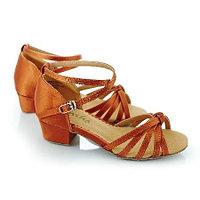Туфли бальные женские сатин GRACIA BK 13026S Sansha Цвет Загар Размер D Материал Сатин